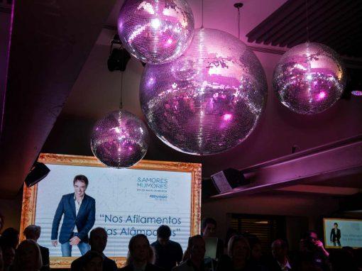 Lançamento do CD Amores & Humores do nosso Embaixador Fernando Pereira