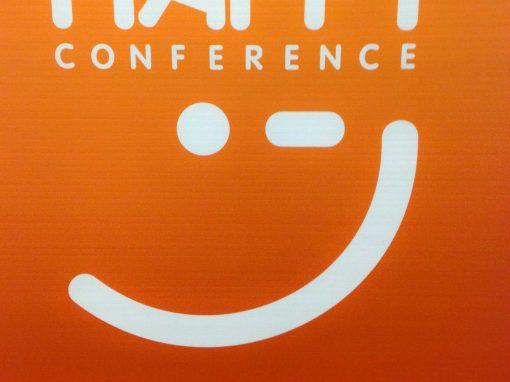 Parceria com a Happy Conference que já conta 3 anos consecutivos