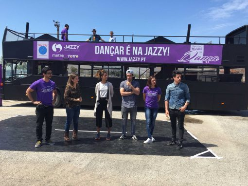 Celebration of the International Dance Day in partnership with Rock in Rio Lisboa and Jazzy
