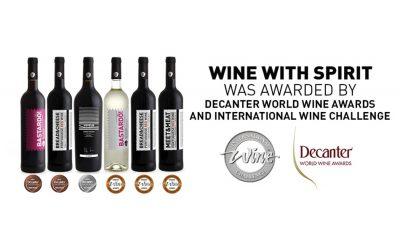 Wine With Spirit premiada com mais de 6 medalhas