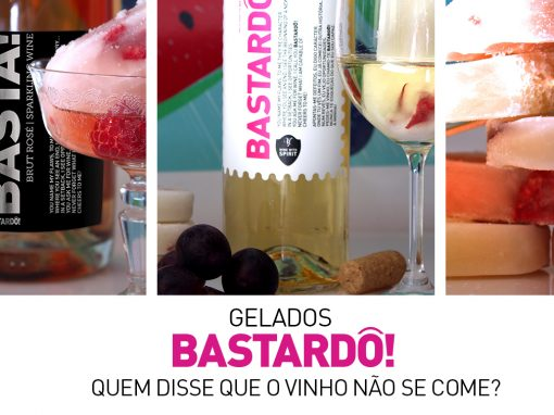 Bastardô! ice creams, who says we cannot eat wine?
