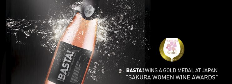 "Basta! arrecada medalha de ouro no Japão – ""Sakura Women Wine Awards"""