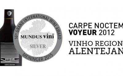 Mundus Vini awarded Carpe Noctem Voyeur with a silver medal