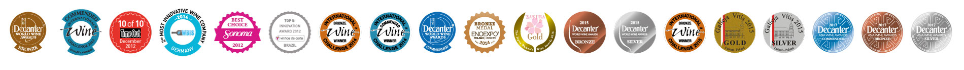 awards and recognitions wine medals wine with spirit