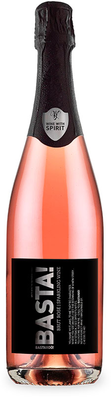 basta brut rose sparkling wine wine with spirit