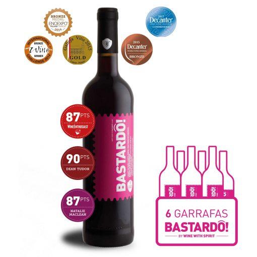 Vinho Tinto Bastardô! Wine With Spirit