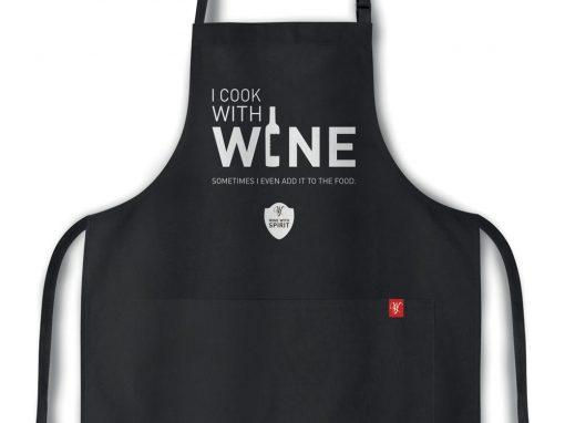 APRON – I MAKE WINE