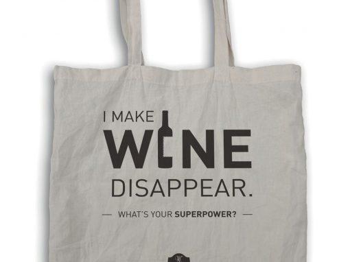 TOTE BAG – I MAKE WINE
